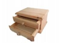 Drewniane pudełko 11 x 11 cm DECOUPAGE M5