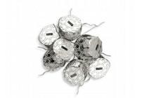 Dzwoneczki metalowe 4 cm MIX 6 szt.