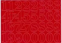 Cyfry samoprzylepne niebieskie 2,8 cm