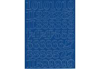 Cyfry samoprzylepne czerwone 1,5 cm