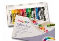 Pastele do tkanin Pentel 7 kolorów