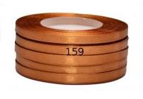 Wstążka satynowa 6mm/32m brąz