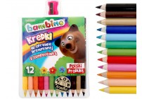 Kredki ołówkowe Koh i Noor KRECIK 36 kolorów