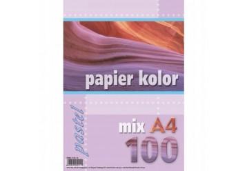 Papier ksero A-4 mix 100 arkuszy