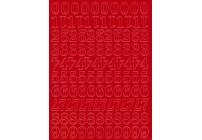 CYFRY SAMOPRZYLEPNE NIEBIESKIE 1,5 cm