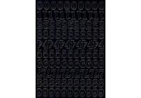 CYFRY SAMOPRZYLEPNE ZIELONE 1 cm