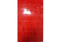 Litery samoprzylepne ZIELONE 4,5 cm