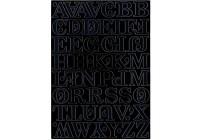 LITERY SAMOPRZYLEPNE NIEBIESKIE 2,8 cm