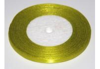Wstążka satynowa 6mm/32m biała